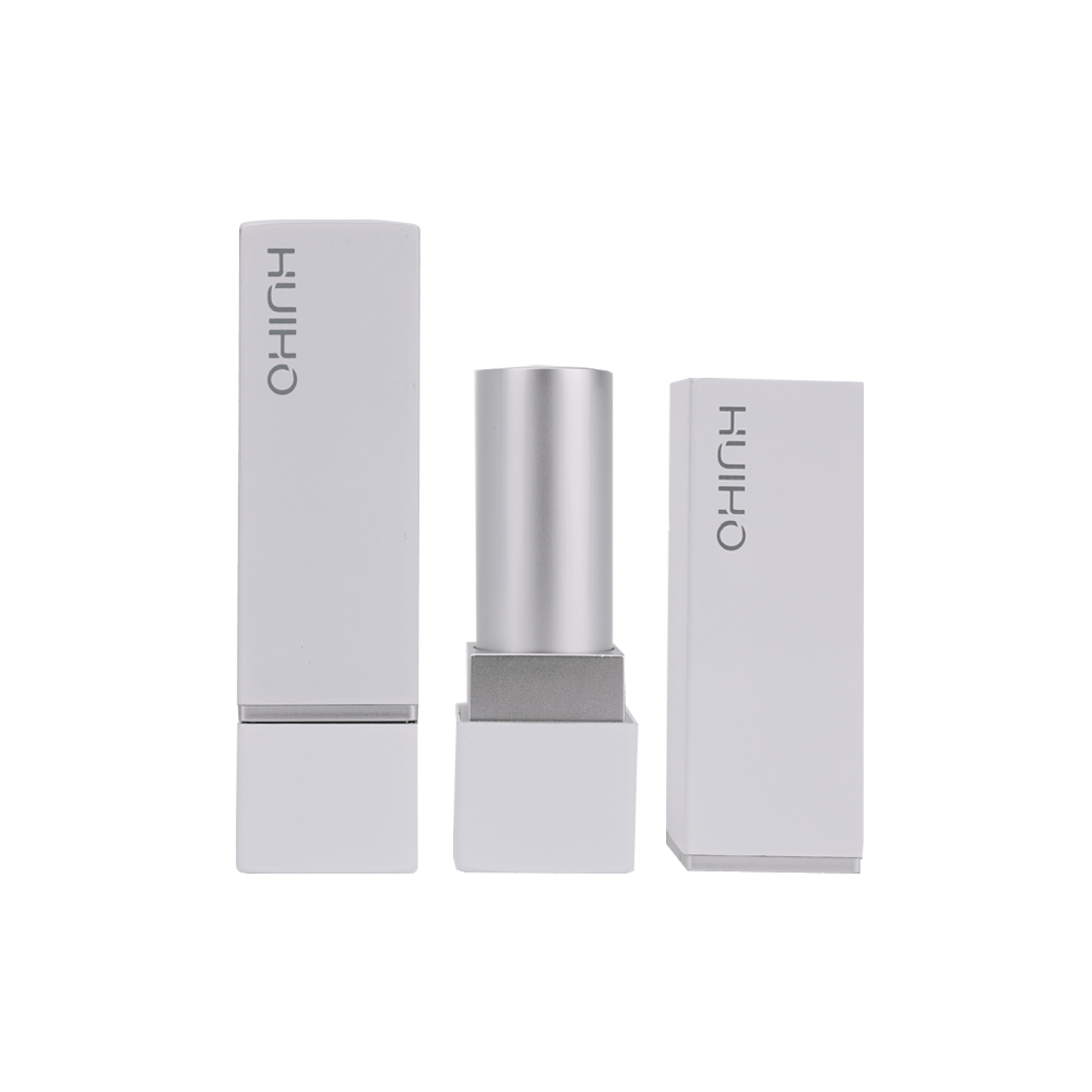 Aluminum Grey matte Lipstick Tube HL8254