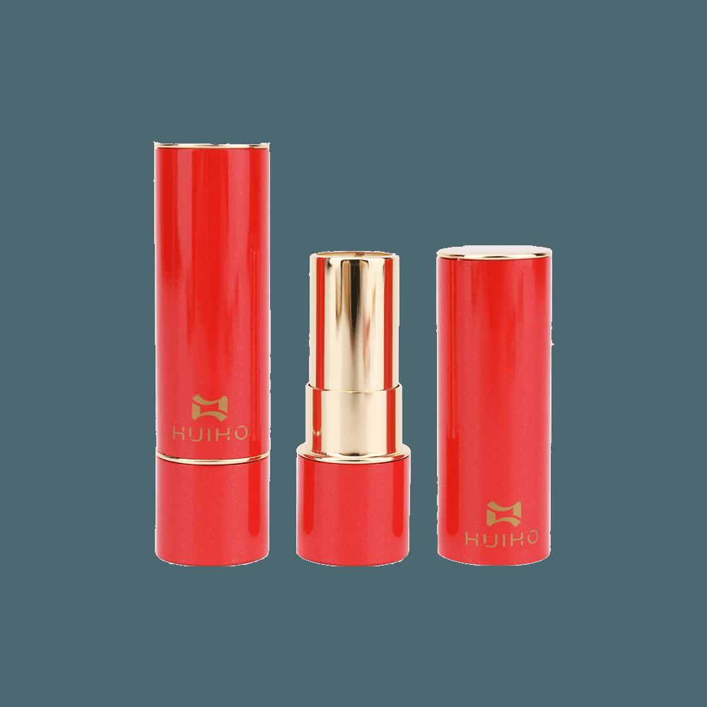 Aluminum Red Lip Balms Case HL8256