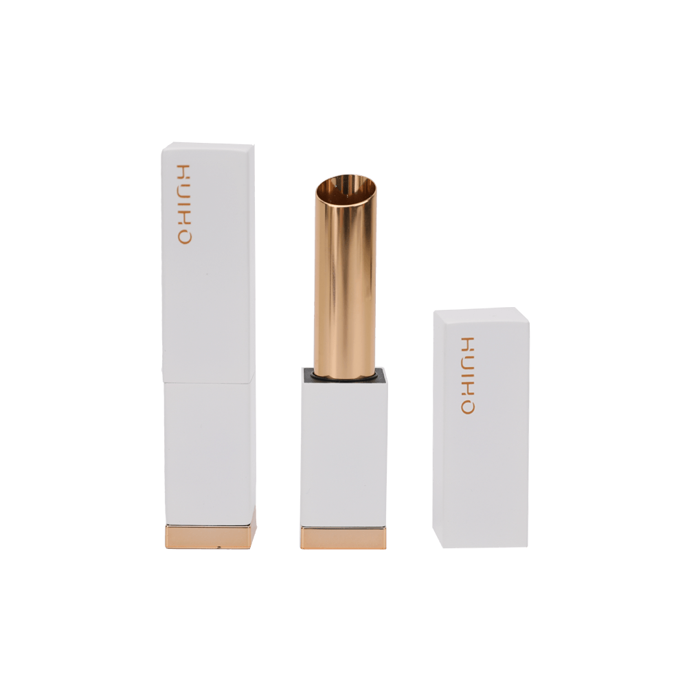 Pearl White Square Lipstick Tube HL8259