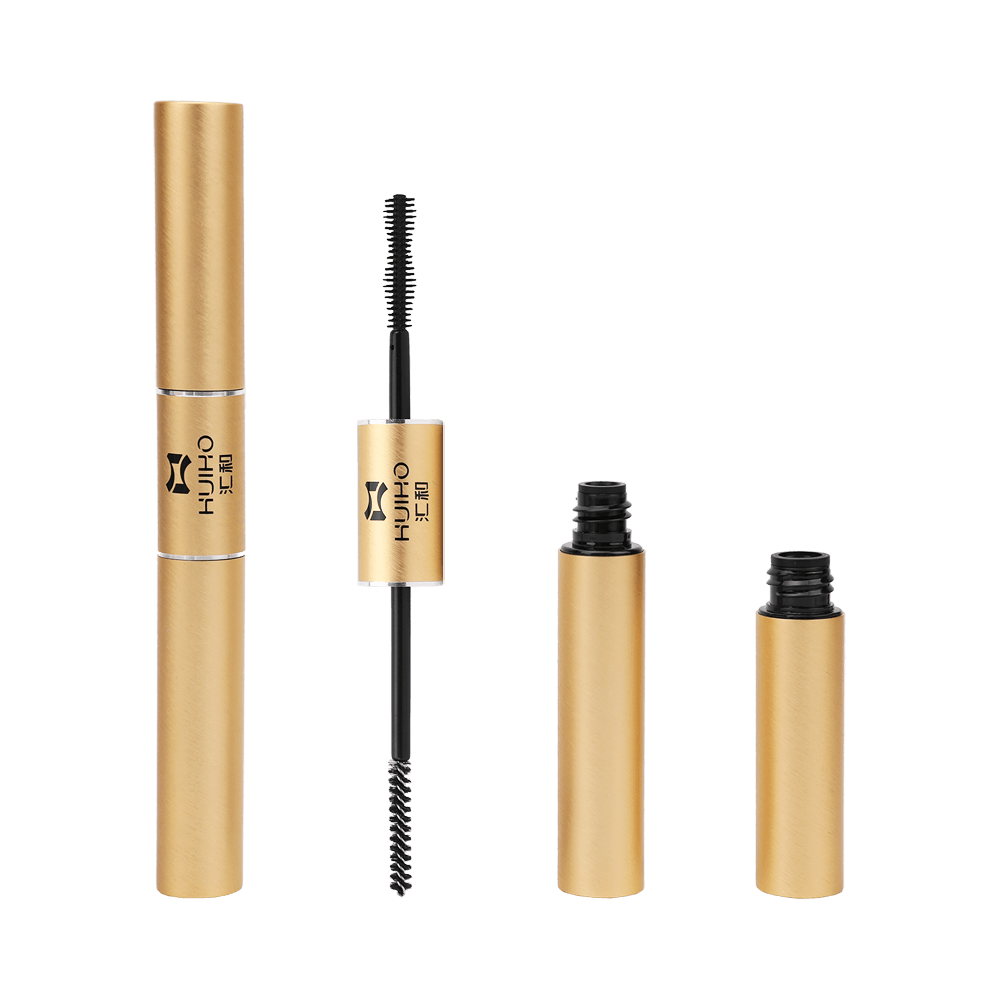 Gold Double Head Mascara Tube Packaging HM1231